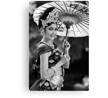 Balinese Dancer Canvas Print