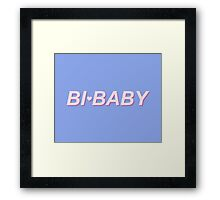 Bi-baby Framed Print