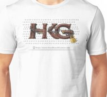 Rock Out with Hard Knock Gamers (with Print Behind Logo) Unisex T-Shirt
