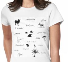 Beelde van Afrika 2 / Images of Africa 2 Womens Fitted T-Shirt
