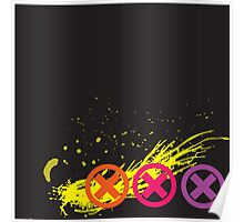 3 Strikes Grunge Poster