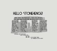 Hello Stonehenge! - Doctor Who Unisex T-Shirt