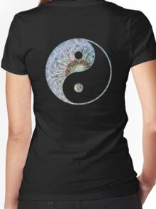 Yang_of_Gaia_9 Women's Fitted V-Neck T-Shirt