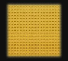 Building Block Brick Texture - Yellow Kids Clothes