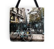 City Transportation Tote Bag