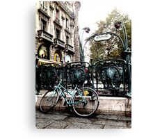 City Transportation Canvas Print