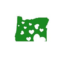 I Heart Oregon by raddude
