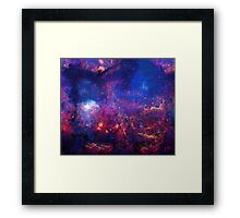 Space One Framed Print