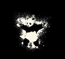 Bansky Panda by Mark Walker