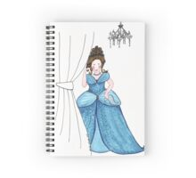 Arriving At The Ball Spiral Notebook