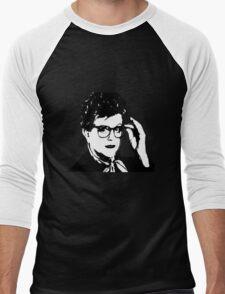 Jessica Fletcher Print  Men's Baseball ¾ T-Shirt