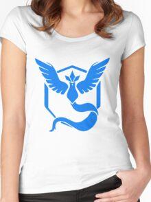 Team Mystic Pokemon GO! Women's Fitted Scoop T-Shirt