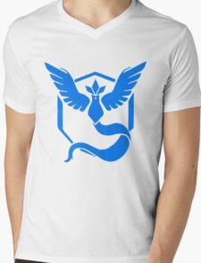 Team Mystic Pokemon GO! Mens V-Neck T-Shirt