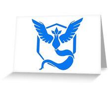 Team Mystic Pokemon GO! Greeting Card