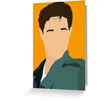 Mike Until Dawn - Minimalism Greeting Card