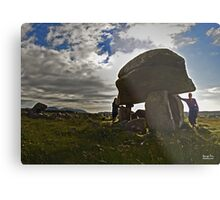 Kilclooney Dolmen, County Donegal Metal Print
