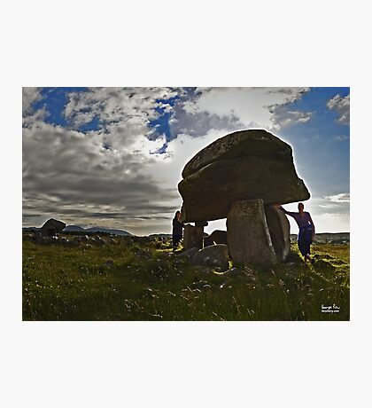 Kilclooney Dolmen, County Donegal Photographic Print