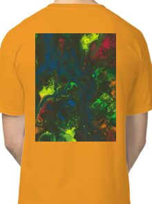 Blacklight Flow - Acrylic Painting Art Classic T-Shirt