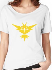 Team Instinct Pokemon GO! Women's Relaxed Fit T-Shirt