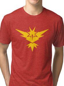 Team Instinct Pokemon GO! Tri-blend T-Shirt