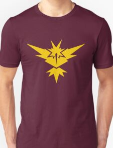 Team Instinct Pokemon GO! Unisex T-Shirt