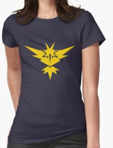 Team Instinct Pokemon GO! Womens Fitted T-Shirt