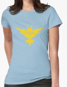 Team Instinct Pokemon GO! Womens Fitted T-Shirt