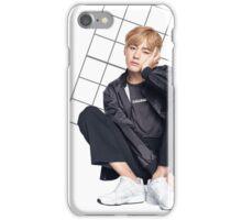 Taehyung (V) Grid iPhone Case/Skin