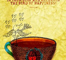 What my Coffee says to me -  October 3, 2012 by catsinthebag