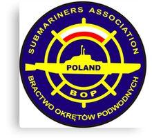 Submariners Association - Poland Canvas Print