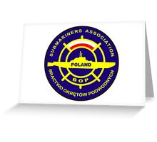 Submariners Association - Poland Greeting Card