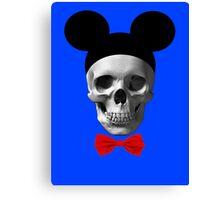 Walt Disney Til I Die Canvas Print