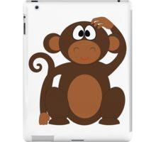 Cartoon Monkey Animal Cute Art iPad Case/Skin