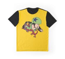 A Girl Worth Fighting! Graphic T-Shirt