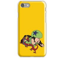 A Girl Worth Fighting! iPhone Case/Skin