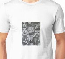 Lots of Walking Dead Characters! :D  Unisex T-Shirt