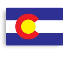 Colorado State Flag  Canvas Print
