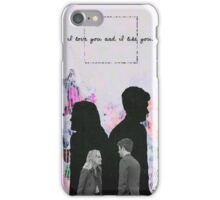 Ben & Leslie - Design 1 iPhone Case/Skin