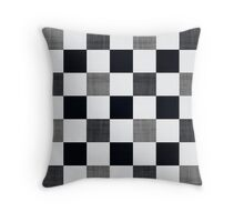 Ska Gingham Throw Pillow