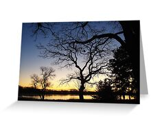 Sunrise over Laddie Lake Greeting Card