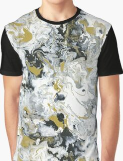Lux Flow - Acrylic Painting Art Graphic T-Shirt