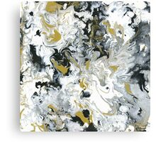 Lux Flow - Acrylic Painting Art Canvas Print