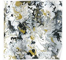 Lux Flow - Acrylic Painting Art Poster