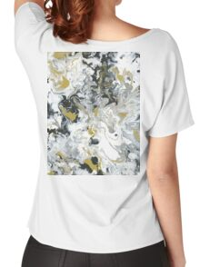 Lux Flow - Acrylic Painting Art Women's Relaxed Fit T-Shirt