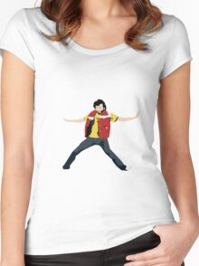 Flight of the Conchords - Bret's Angry Dance Women's Fitted Scoop T-Shirt