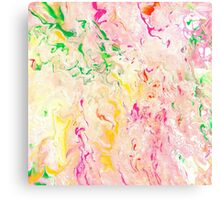 Psychedelic Flow- Acrylic Painting Art  Canvas Print