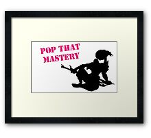 Yasuo Pop that mastery Framed Print