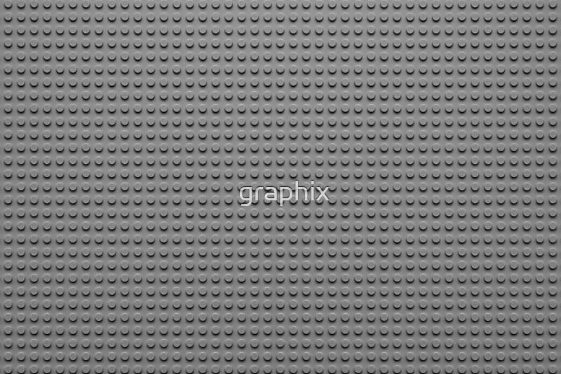 Gray Red Brick Building Block : Quot building block brick texture gray posters by graphix