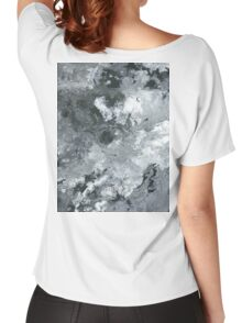 Contrast Flow - Acrylic Painting Art Women's Relaxed Fit T-Shirt