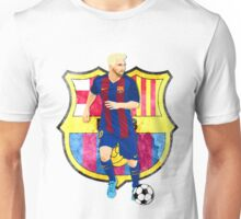 BARCELONA, LIONEL MESSI Unisex T-Shirt